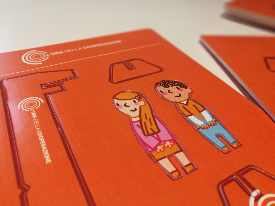 Visual communication for Legacoop Lombardia