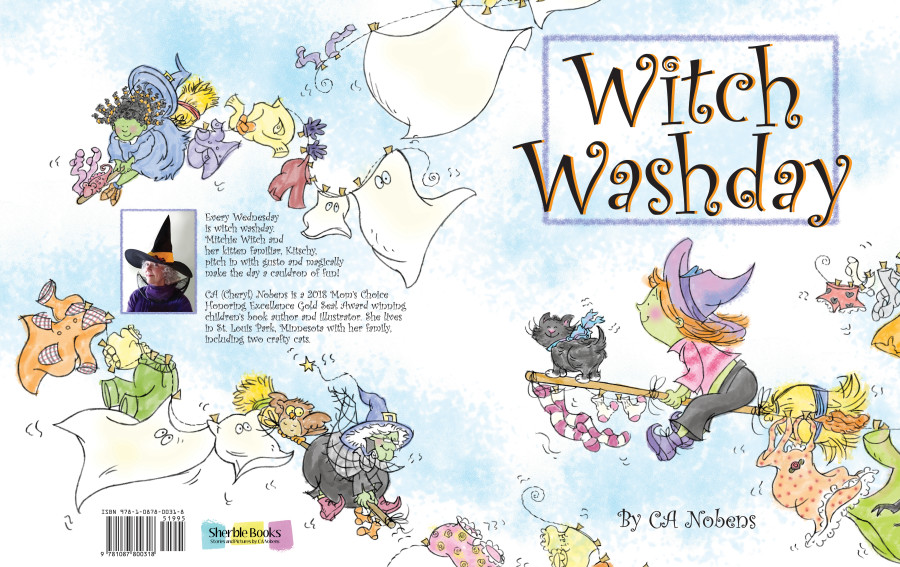 COMING SOON! Witch Washday by CA Nobens