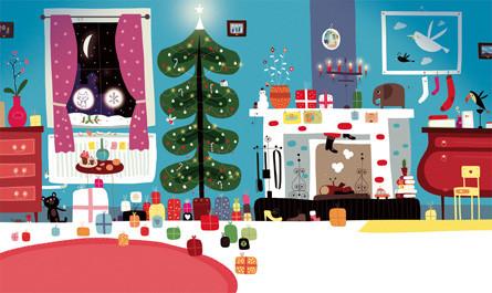 Où est caché le père Noël?