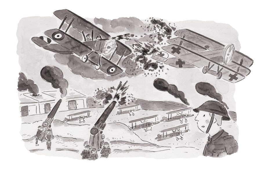 Picturebook Release - A Secret Diary of the First World War