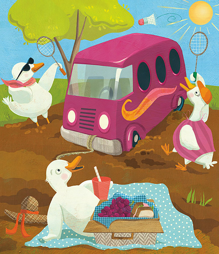 Unlucky Duckies – Early reader story for Sadlier School