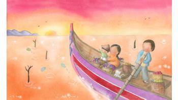 Illustration for Babybug Magazine
