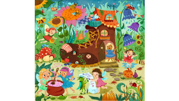 Garden Fairies Puzzle