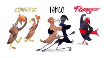Ducks DO dance!