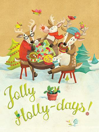 Jolly Holly-days!