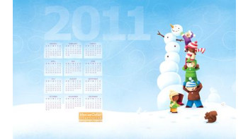 2011 Winter Wallpaper