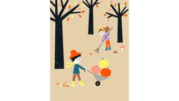 Ekaterina Trukhan: Autumn scene