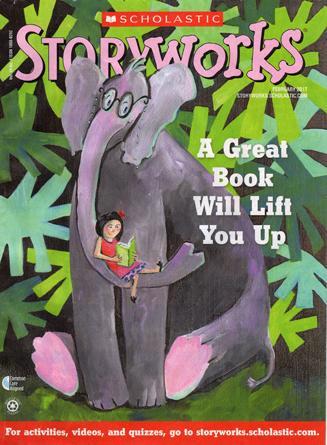 Storyworks Magazine Cover