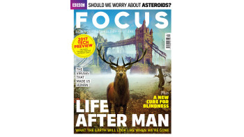 Andy Potts - BBC Focus cover