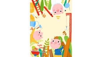 Maria Neradova: The Three Little Pigs