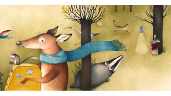 Ester Garcia Cortes - new children's book 'The Winter Train'