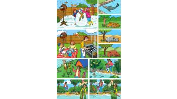 Laura Catalan: Big questions - Textbook illustrations