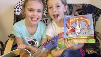 I'm Your Buddy children's book winning awards!