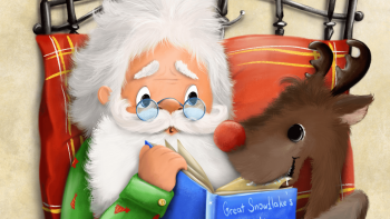 Santa's book
