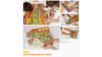 Maria Neradova's puzzle wins Gold!