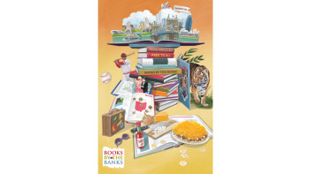 Books By the Banks 2011 Poster