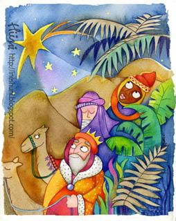 The Three Wise Men - Los Tres Reyes Magos