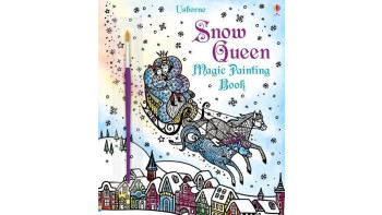 Snow Queen Magic Painting Book