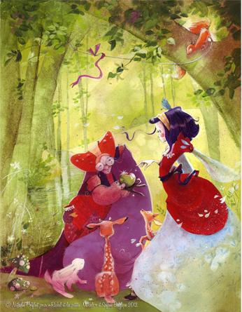 'The New Snow White' by Nathalie Polfliet