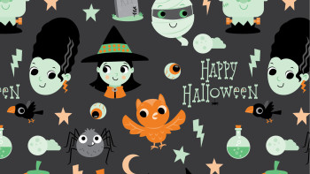 Halloween illustrations and Spooky art