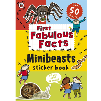 Ladybird First Fabulous Facts: Minibeasts Sticker