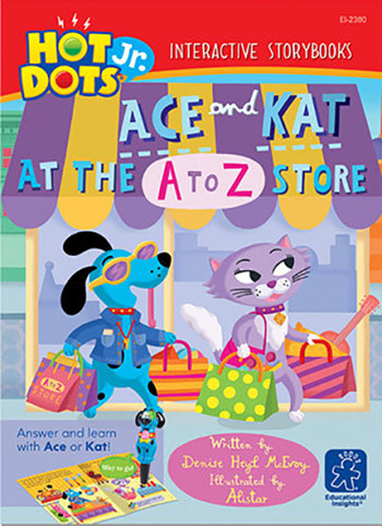 Ace and Kat at the A to Z store