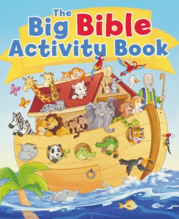 Big Bible Activity Book