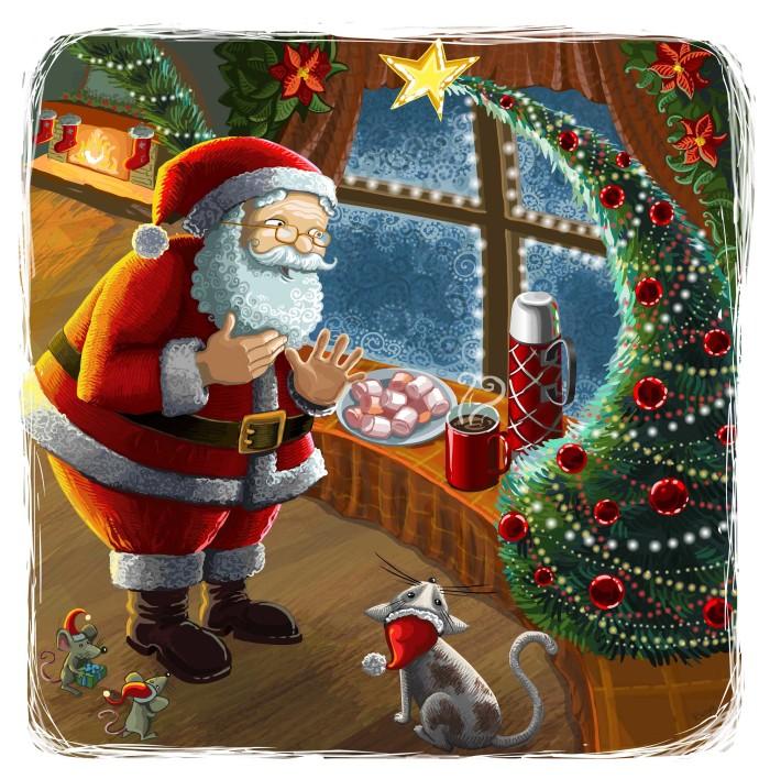 Hot Chocolate for Santa Claus