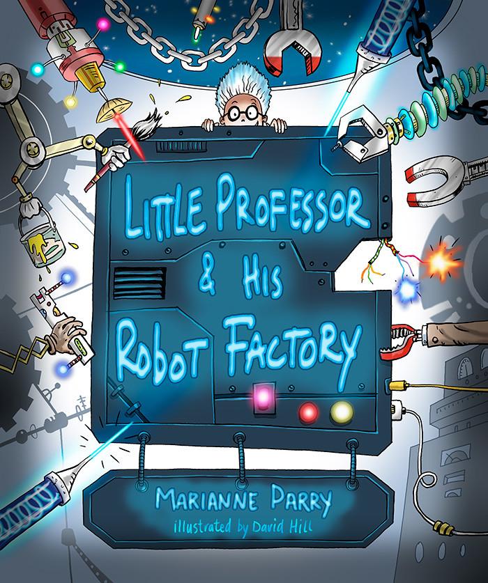 Little Professor & His Robot Factory