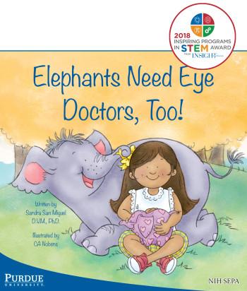 Elephants Need Eye Doctors, Too!