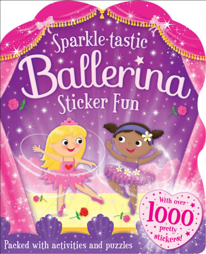 Sparkle tastic Ballerina Sticker Fun