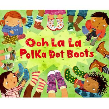 Ooh La La Polka Dot Boots