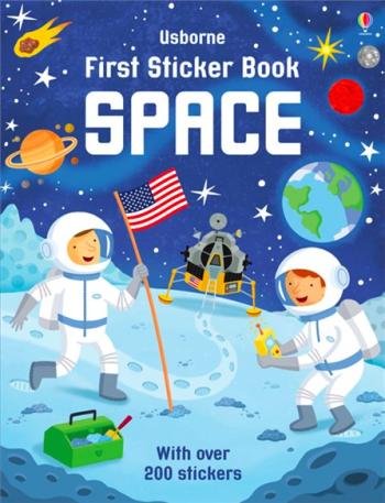 First Sticker Book: Space