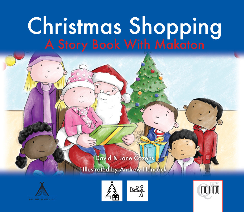 Christmas Shopping - A Story Book With Makaton