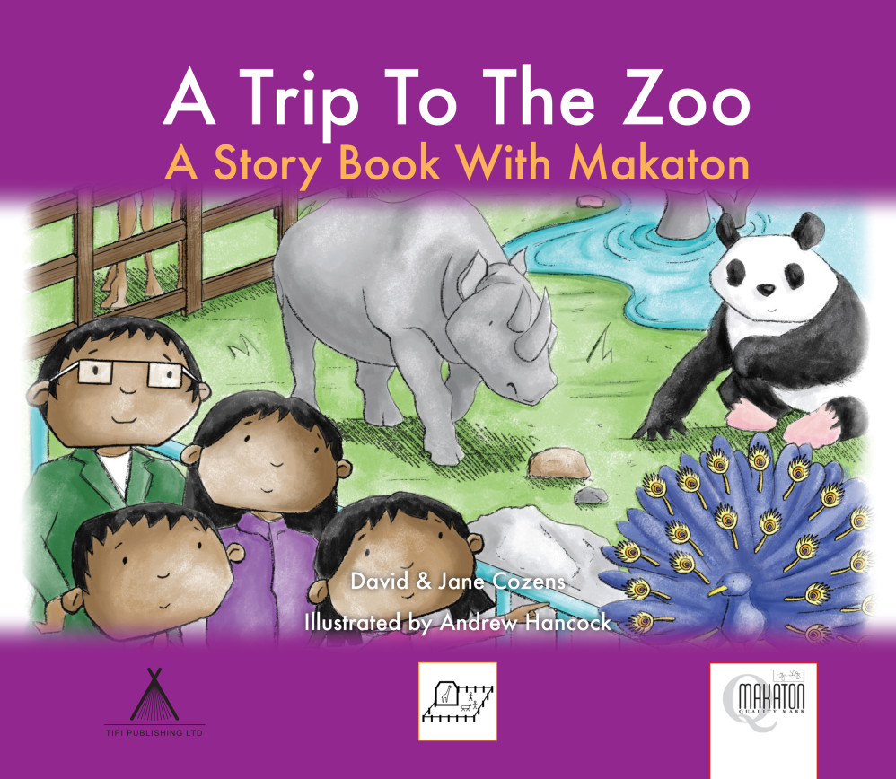 A Trip To The Zoo - A Story Book With Makaton
