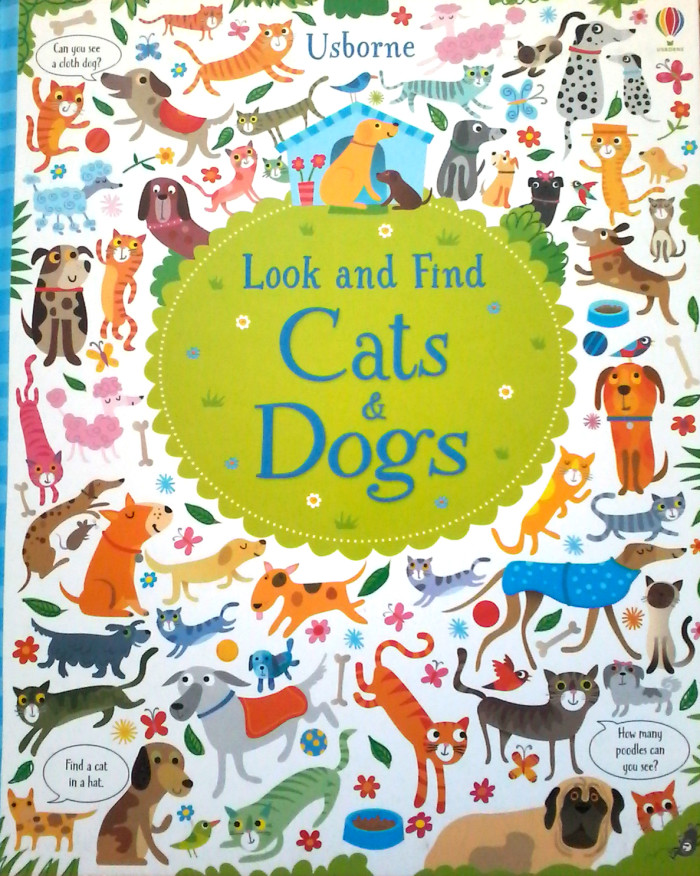 Look and Find Cat and Dogs