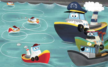Tough Tug - Picture Book Click on image for more