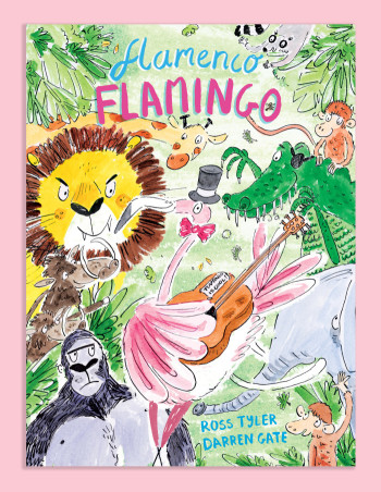 Flamenco Flamingo - children's poetry series
