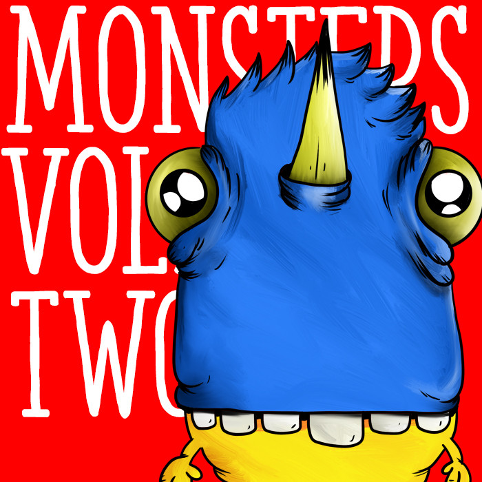 Monster Drawings Vol. 2