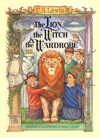 'The Lion the Witch and the Wardrobe' (graphic novel version, illustrated and abridged by myself)
