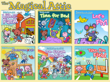"""The Magical Attic"" series"