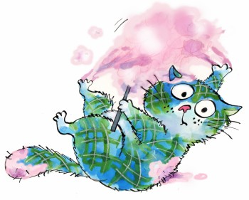 Porridge the Tartan Cat