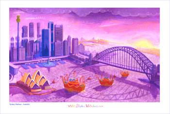 'Christmas Arrives in Sydney'