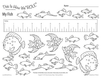 Purdue University Fish Healthcare Activity Sheets