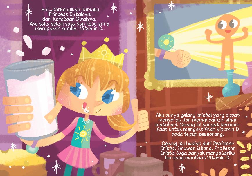 Princess Ditalova and the Light of Vitamin D