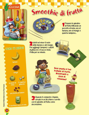 Smoothie alla frutta - Tata Frittata