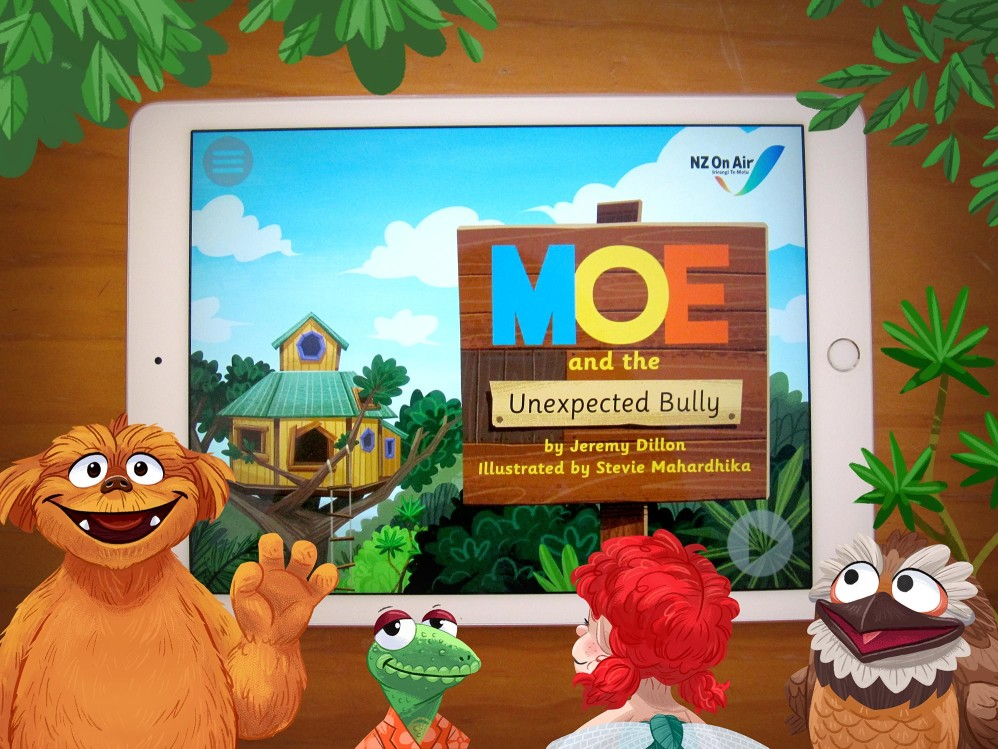 Moe and the Unexpected Bully Storybook App