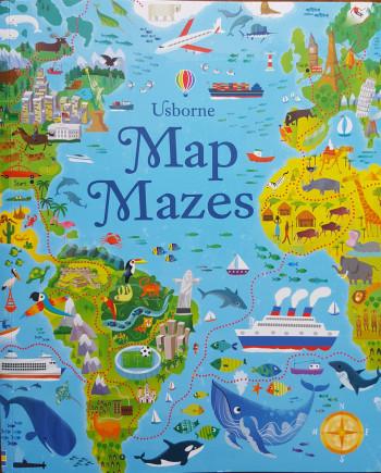 Usborne Map Mazes