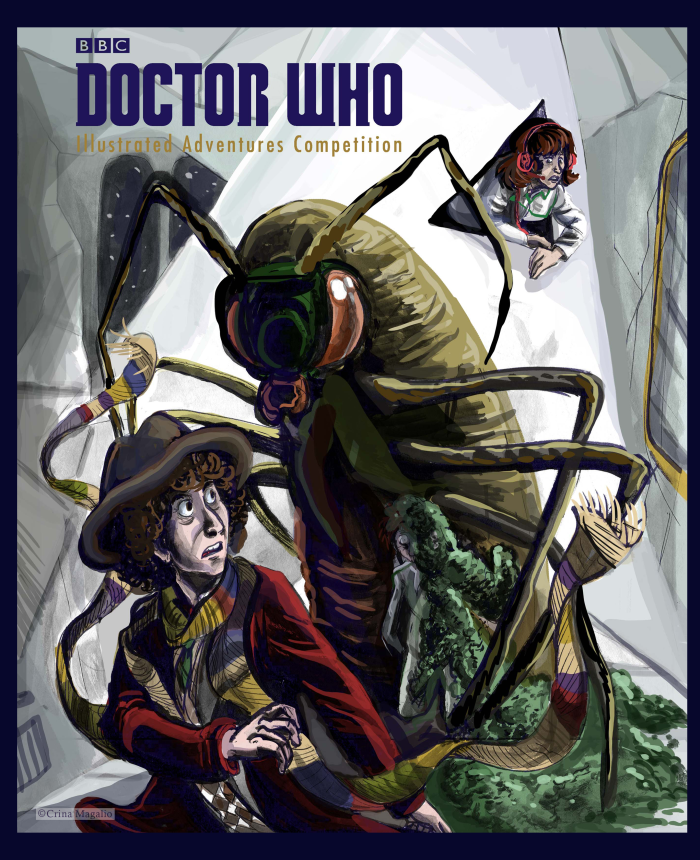 """Doctor Who 100 Illustrated Adventures"" published by Penguin Random House promotion picture"