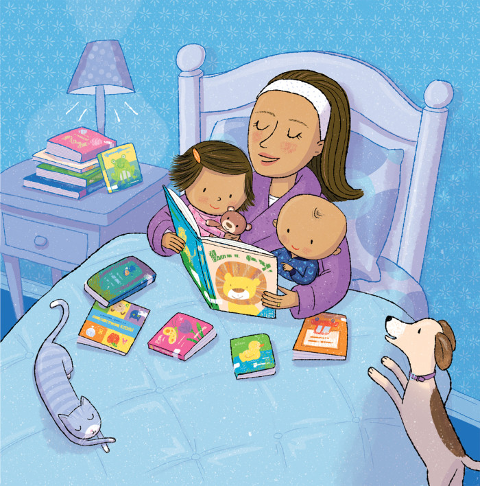 """""""Library Babies,"""" illustrated by Violet Lemay"""